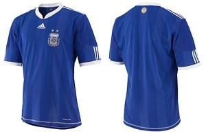 Camiseta Argentina Reserva 2010